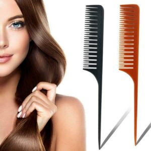 1Pc Professional Hair Combs Hairdressing Tail Comb Anti Static Comb Hair Cutting Comb Set Hair Styling Tools