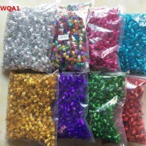 200pcs-1000pcs hair dread Braids dreadlock Beads adjustable cuffs clips Micro Rings for girls women men Accessories wholesale