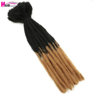 22 Inch Dreadlocks Crochet Braids Hair Synthetic Faux Locs For Men And Women Ombre Braiding Hair Extensions Hair Expo City