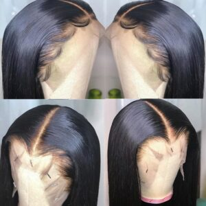 8″-36″ Straight Hair Frontal With Bundles Human Hair Bundles With Frontal Brazilian Hair Weave Bundles With Closure Frontal