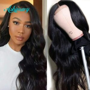 Ashimary 4×4/6×6 Lace Closure Wig Human Hair Brazilian Body Wave Lace Wigs for Black Women 13X4/13X6 Lace Front Human Hair Wigs