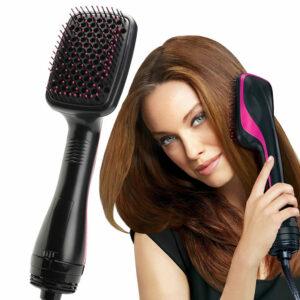 Hair Dryer Brush One Step Hair Blower Brush Smoothing Hot Air Brush Travel Blow Dryer Comb Professional Hairdryer Hairbrush