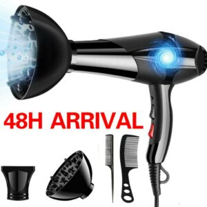 Professional Hair Dryer Strong Power Barber Salon Styling Tools Hot/Cold Air Blow Dryer For Salons and household