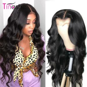 Tinashe Body Wave Wig 13×6 Lace Front Human Hair Wigs 250 Density 4×4 6×6 Closure Wig Brazilian Lace Frontal Wig 28 30 inch Wigs