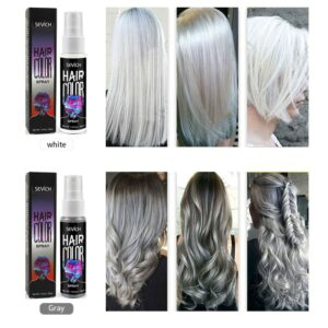 5 Color Disposable Quick Spray Hair Hairspray Party Instant Hair Color Style Instant Color Dye Easy Hair Styling TSLM2