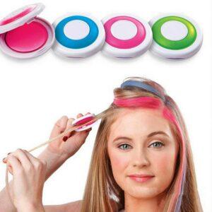 Hot 4 colors Hair Color Hair Chalk Powder European Temporary Pastel Hair Dye Color Paint Beauty Soft Pastels Salon