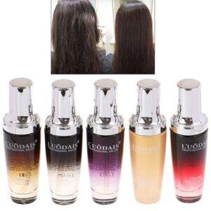 LUODAIS Argan Oil Hair Repair Serum Fragrance Smoother Shine Protect Hair Essence for Dry Damaged Hair & Scalp Treatment 80ml