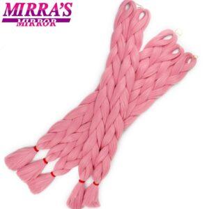 Mirra's Mirror Ombre Hair Extensions for Braids Afrian Jumbo Braid Hair Synthetic Hair Extension Braiding Hair